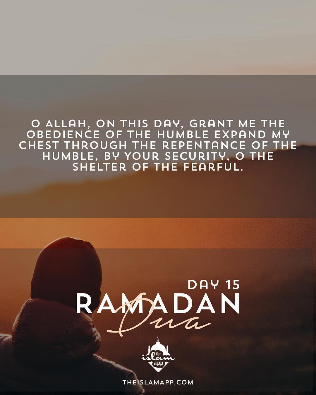 Ramadan Dua Day 15 Read And Reply Ameen Please Feel Free