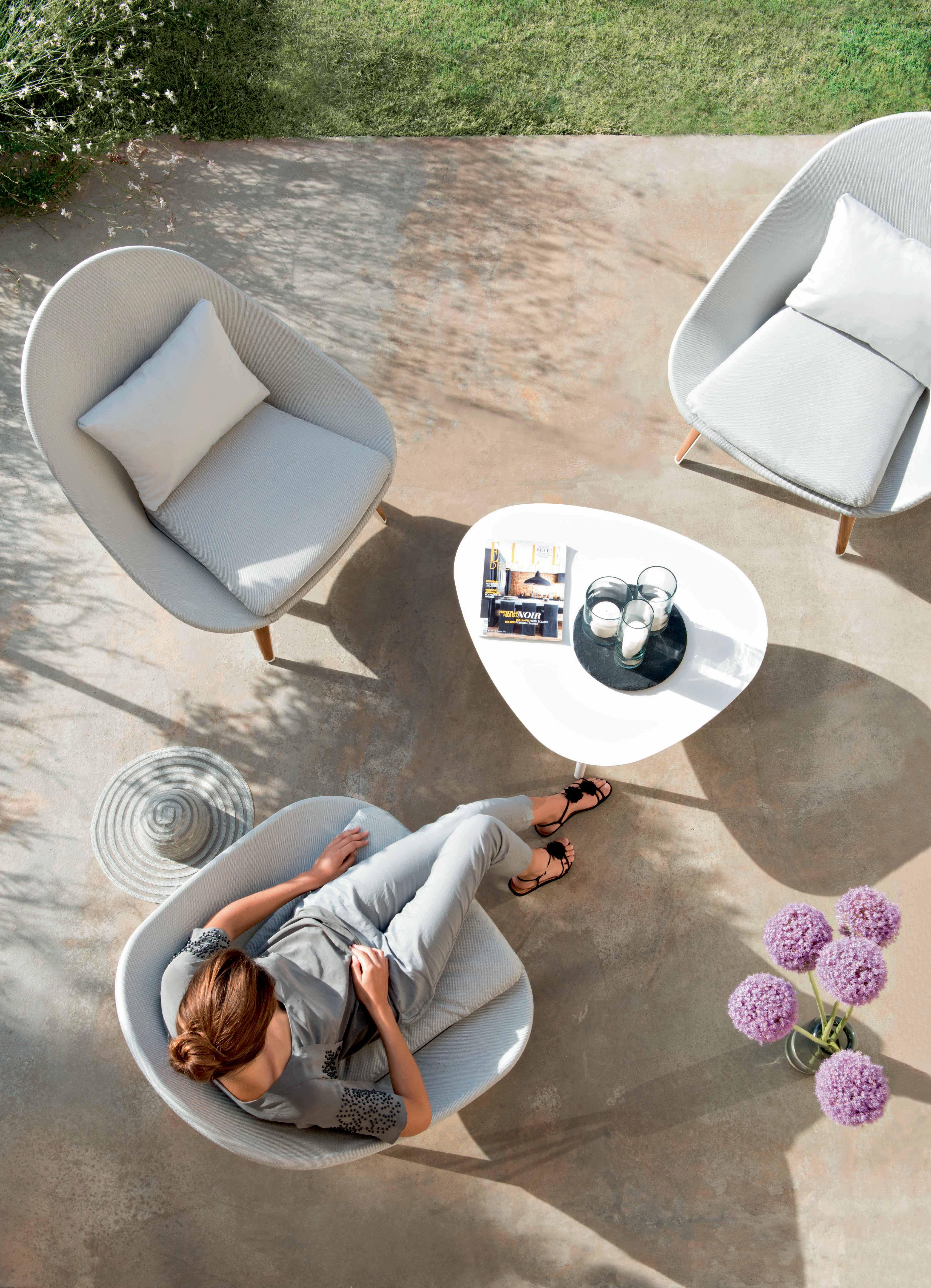 blanc #white #mobilierdejardin #meublesdejardin #Vlaemynck ...