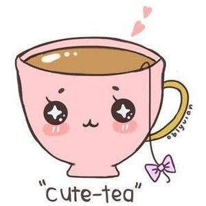 Afbeeldingsresultaat voor tea kawaii