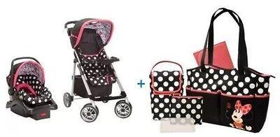 Car Seat Stroller Disney Baby Minnie Mouse Tr