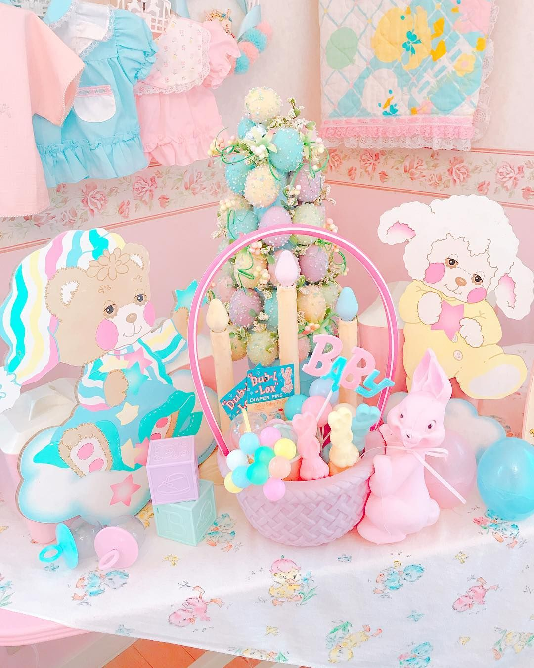 So Fairy Kei! Pastel Easter Aesthetic! www.CuteVintageToys.com ...