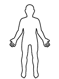 Resultado De Imagen Para Silueta Humana Silueta Del Cuerpo Humano Cuerpo Humano Dibujo Cuerpo Humano