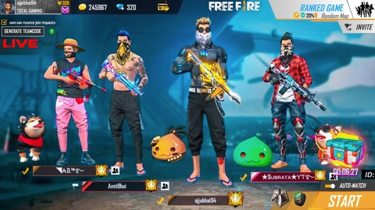 Total Gaming Live Dj Alok 700 Diamonds Free Fire Live With Gyan Gaming Check More Free Fire Free Fire Heroic Free Fire Character