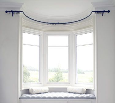 Bay Poles Made To Measure In 2019 Bay Window