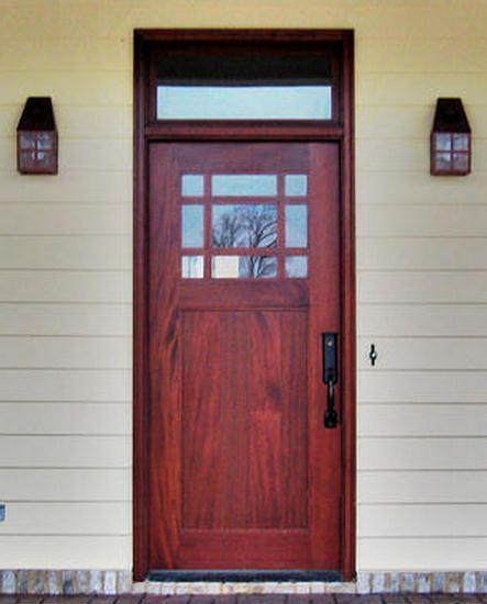 Wonderful Craftsman Exterior Wood Entry Door, Doors By Decora.