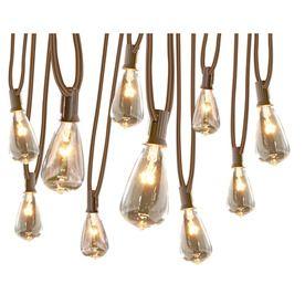 Gemmy 10.5-ft White Edison Bulbs String Lights Backyard ideas Pinterest Bulbs, Lights and ...