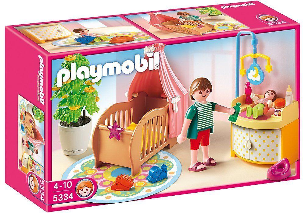 Playmobil 5334 - Rosa Habitación Del Bebé: Amazon.es: Juguetes y ...