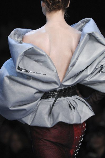 Christian Dior Couture Details Spring 2011 #runwaydetails
