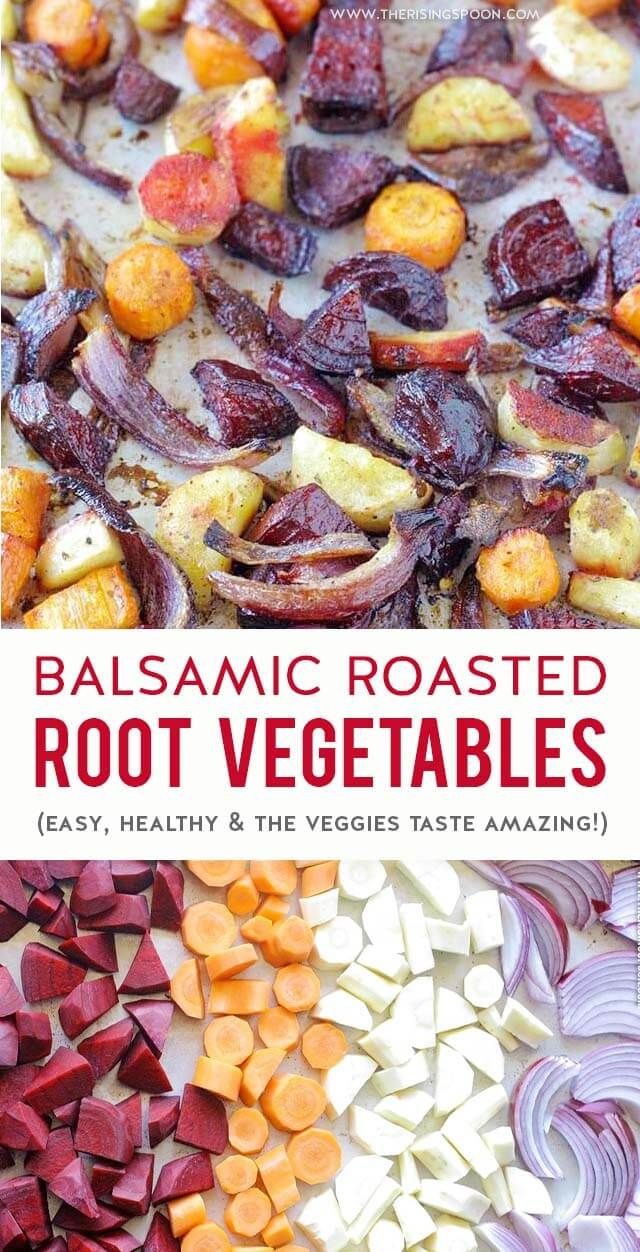 Balsamic Oven-Roasted Root Vegetables images
