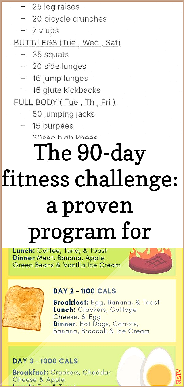 The 90-day fitness challenge a proven program for better health and lasting weight loss 2 The 90-day...