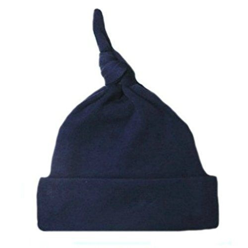 96ce796c92ae8 Jacqui s Unisex Baby Cotton Knit Knotted Hats - Lots of C…