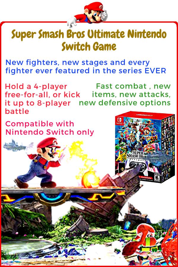 Super Smash Bros Ultimate Nintendo Switch Keep The