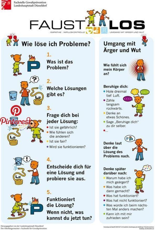 """""""Gewaltprävention in Grundschulen"""", Poster Stadt"""