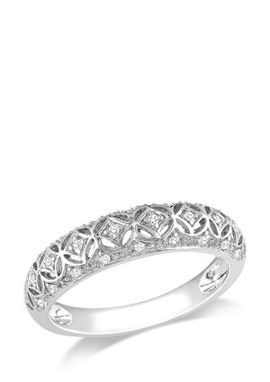 Pretty Ice Com 1 10 Ct Diamond Band Ring Diamond Rings Bands Engagement Rings Rings