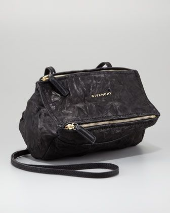 41221bd9309 Givenchy Mini Pandora Crossbody Bag, Black - Bergdorf Goodman ...