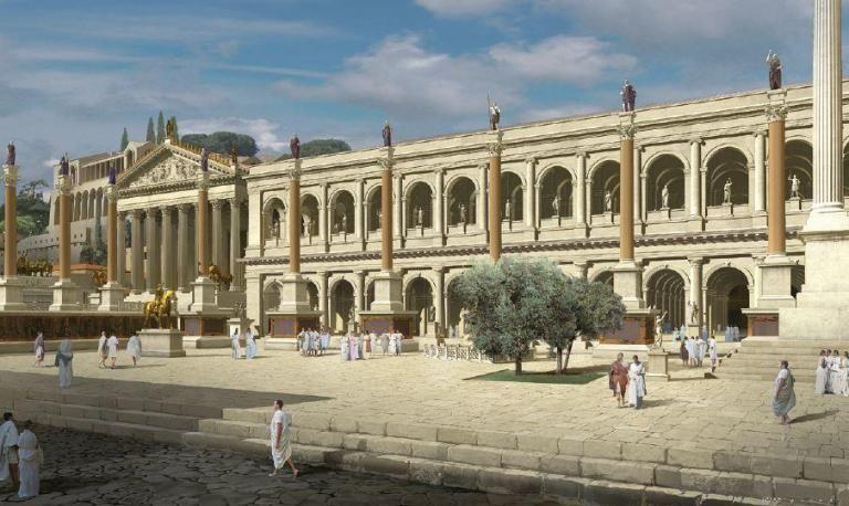 Basilica Julia | Ancient Rome | Rome, Ancient rome, Rome tickets