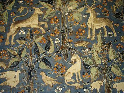 Zoffany Fabric Design Quot Arden Quot 1 95 Metres Blue Cotton