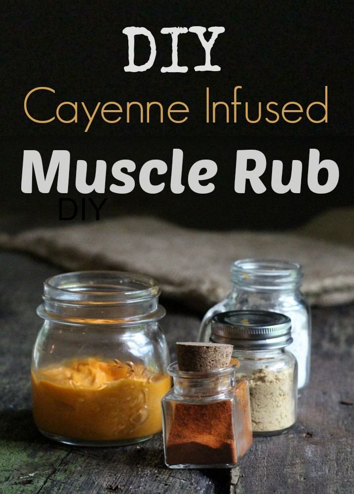 How To Make A Warming Rub For Sore Muscles Herbalism