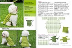 Simple Dog Sweater with Tutorial #dogcrochetedsweaters