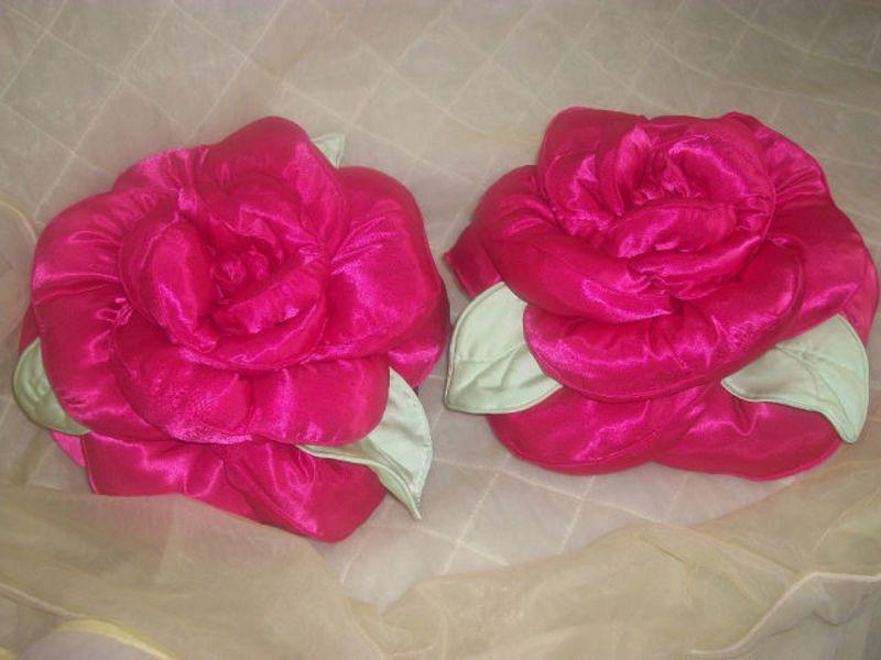 Мастер класс для подушки роза своими руками 88