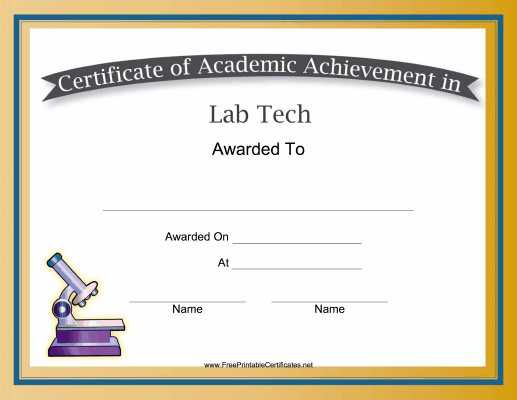 great science classes this free printable certificate of academic