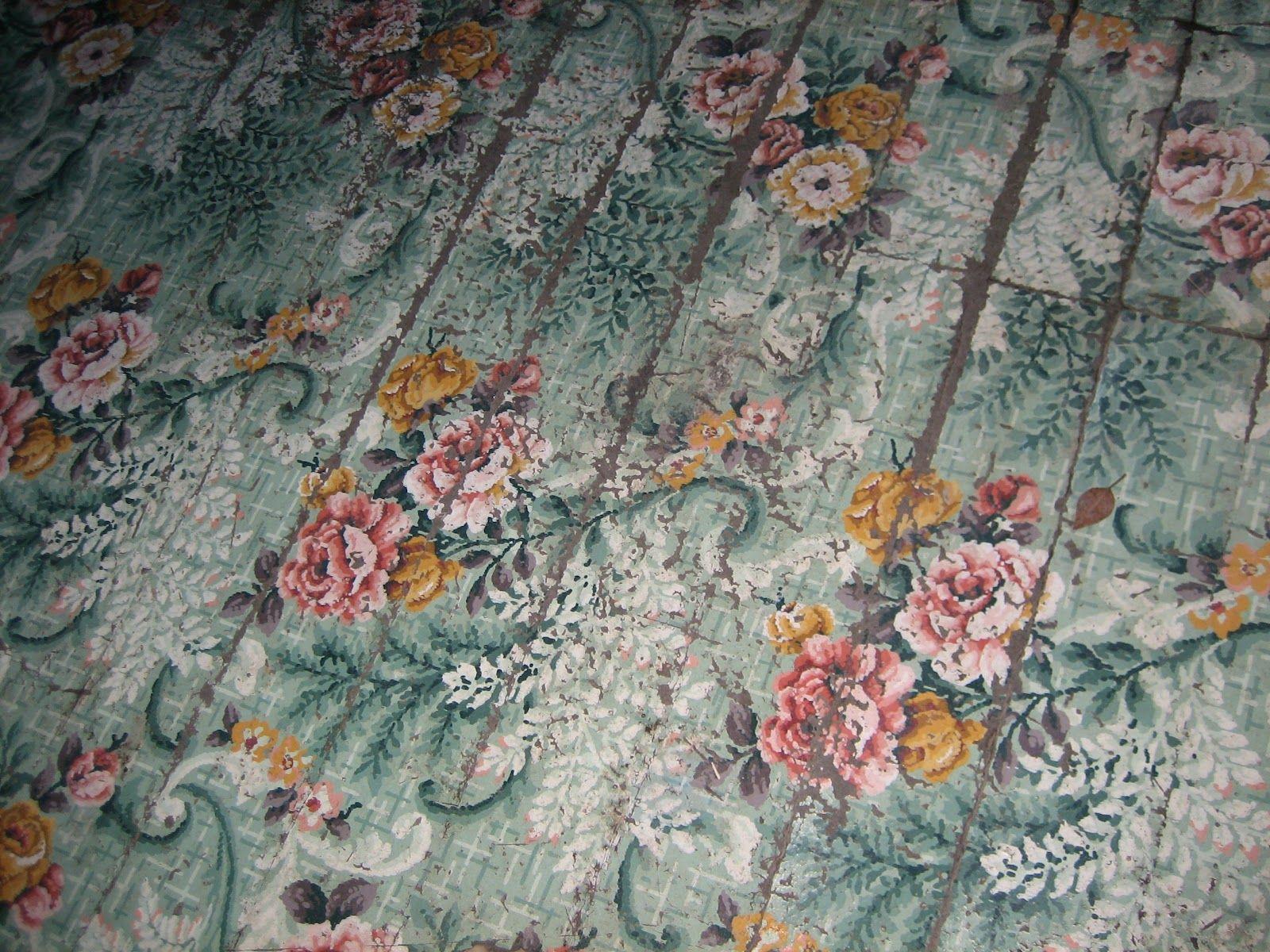 Lawn tea mammaws pink house great vintage linoleum floor