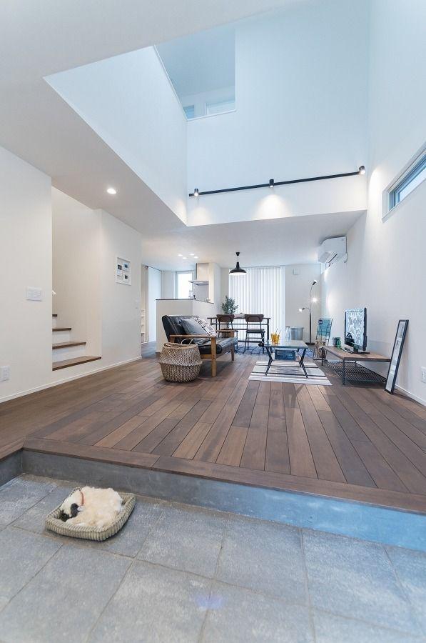 アウトドアの趣味を満喫 ペットと楽しく暮らす家 土間style 収納