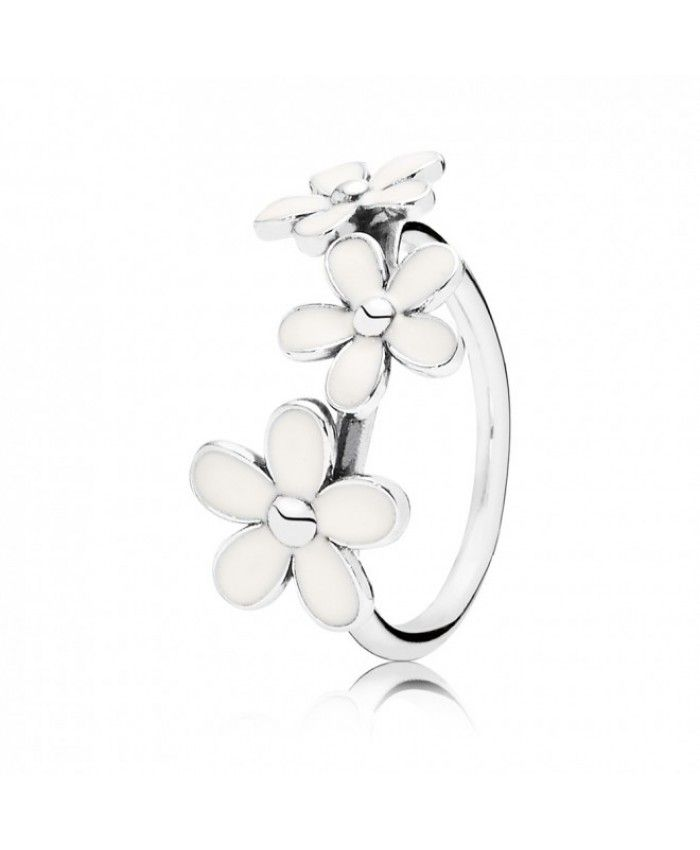 05be12f56 Pandora Triple Daisy Flower Ring 190900EN12 Deals | Pandora Rings ...