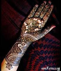 wedding arabic bridal mehndi designs for full hands