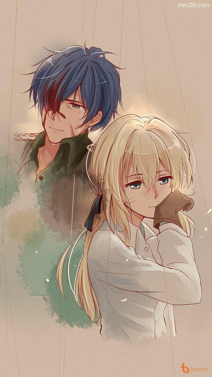 Voilet Evergarden #voiletevergarden #voilet #gilbert #anime #animelove