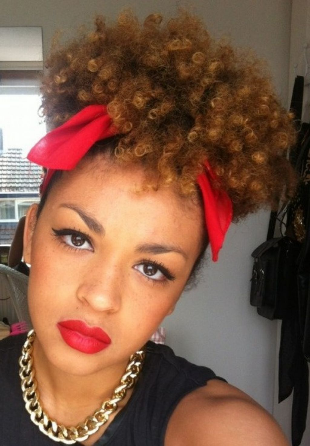 24 fresh natural hairstyles for short hair african