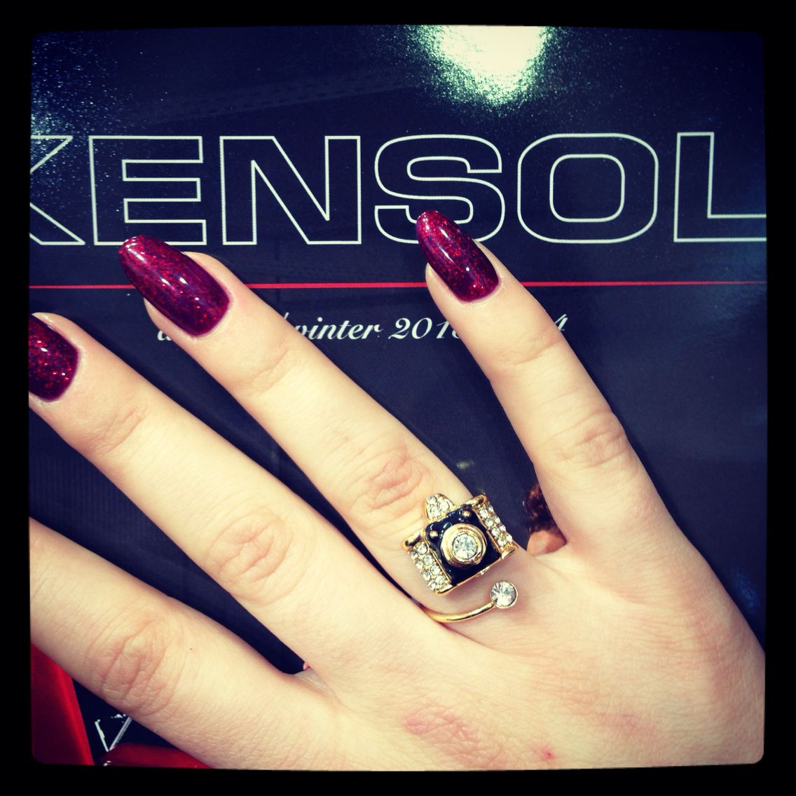 Kensol Class Ring Nail Art Nails