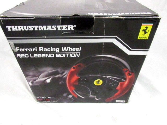 Thrustmaster Vg Ferrari Racing Wheel Red Legend Edition