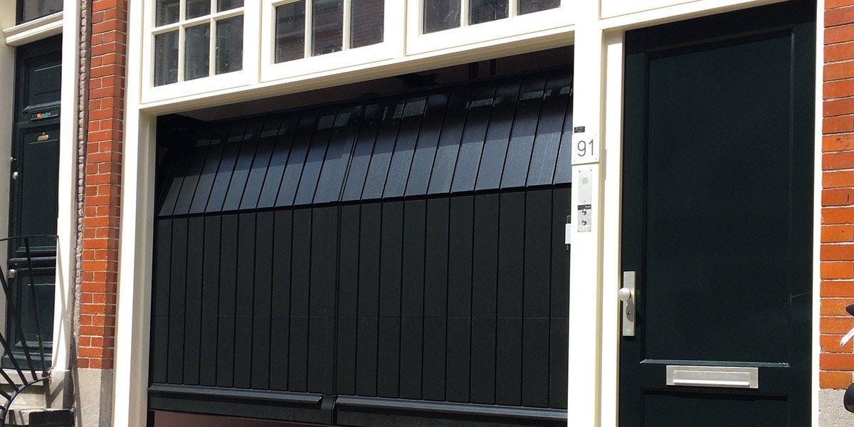 Houten sectionaaldeur » 10 jaar all-in garantie! (Modern of Klassiek)