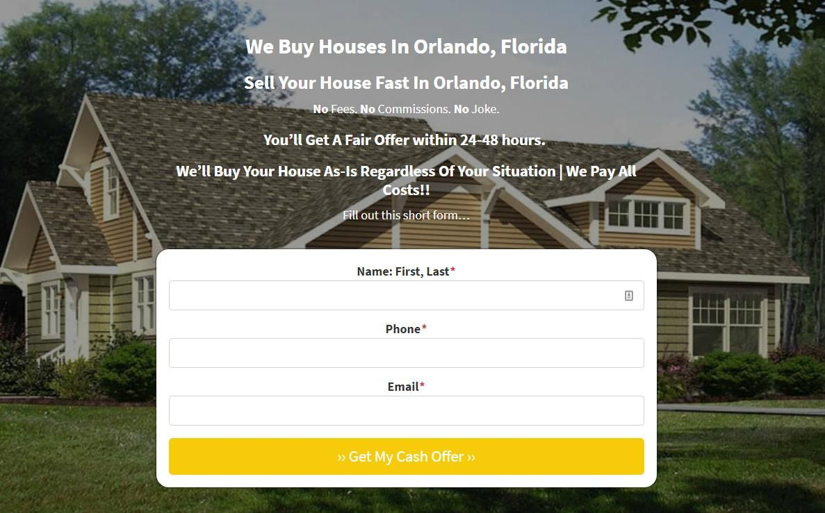 Sell My House Fast in Orlando, FL Particular Properties