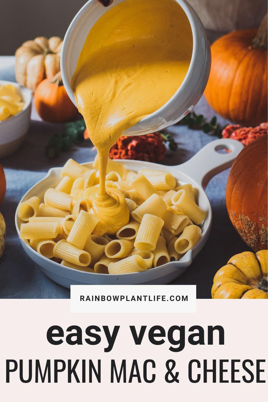 Creamy Vegan Pumpkin Mac And Cheese Rainbow Plant Life In 2020 Vegan Pumpkin Photographing Food Pumpkin Mac And Cheese