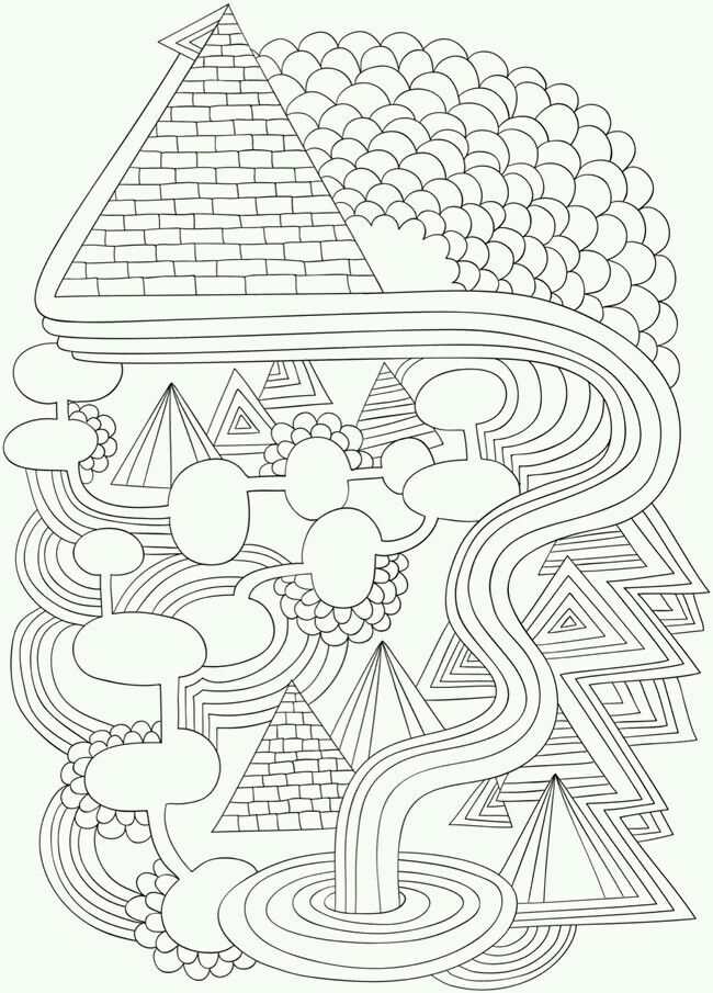 Arterapia Pattern Deco Coloring Pinterest Doodles And Patterns