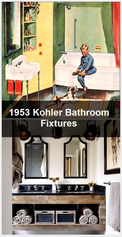 Photo of 1953 Kohler bathroom fittings, #bathroom # fittings # Kohler # bathroom fittings # …