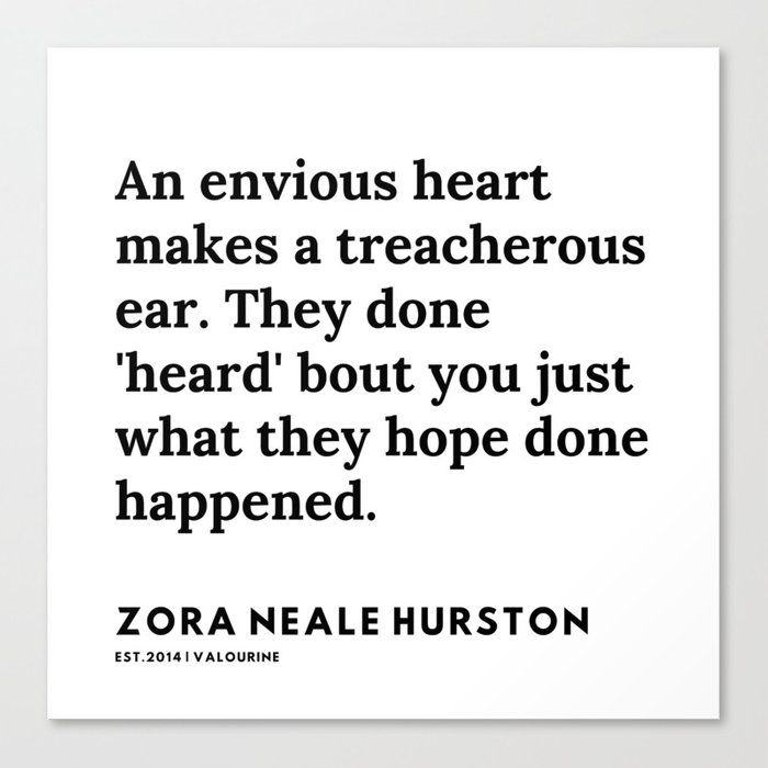 Zora Neale Hurston Quotes | 79 | 20062 | Black Writers | Motivational Quotes For Life| Canvas Print by Quotes And Sayings