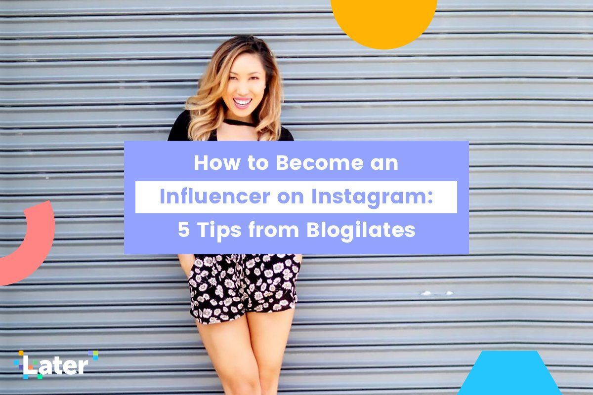 How to an Influencer on Instagram 5 Tips from