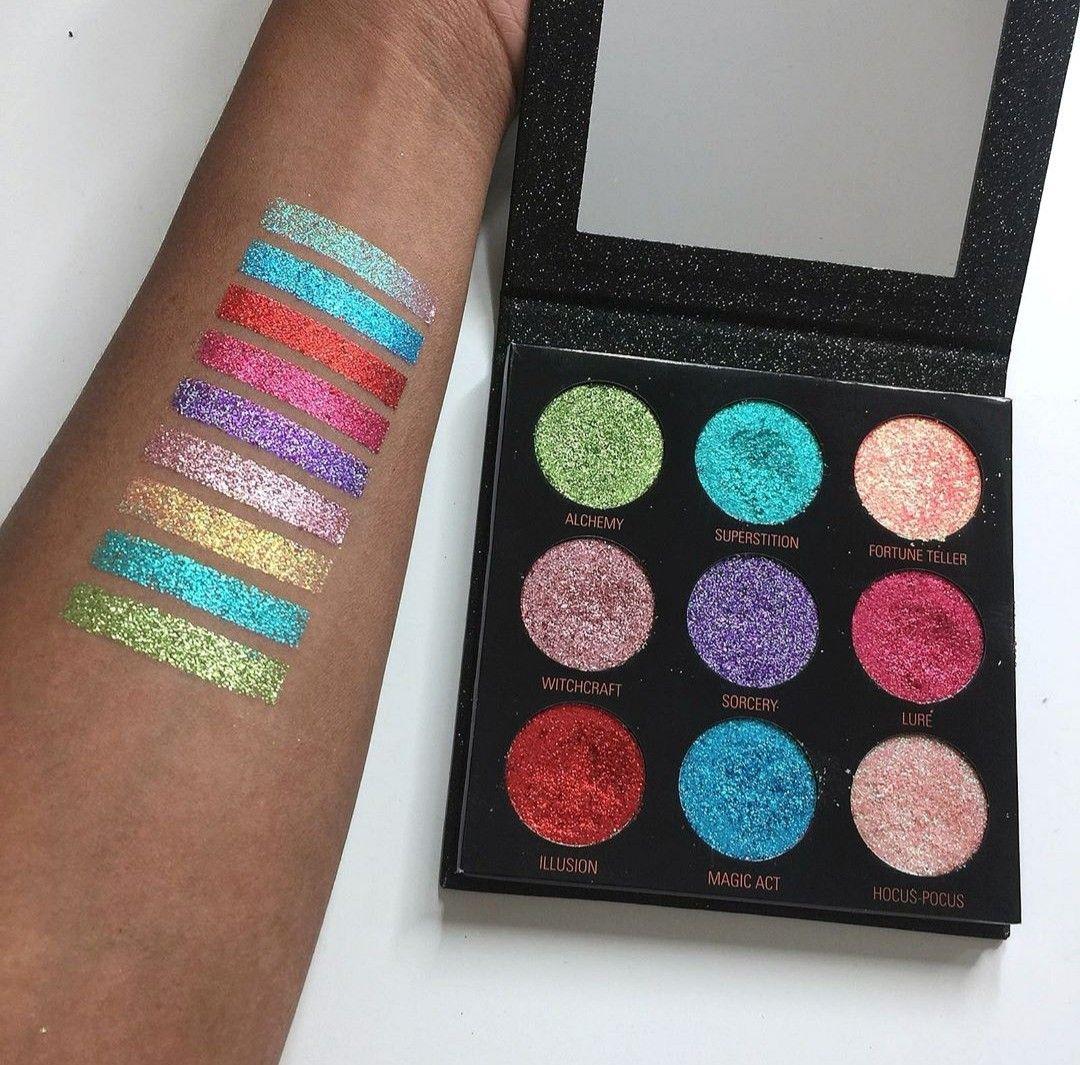 Revolution Makeup Pressed Glitter Palette in Abracadabra