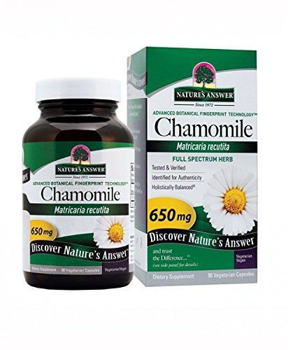Nature S Answer Chamomile Flower 90 Count Awesome Product Click The Image Herbal Supplements Chamomile Flowers Herbal Supplements Herbalism