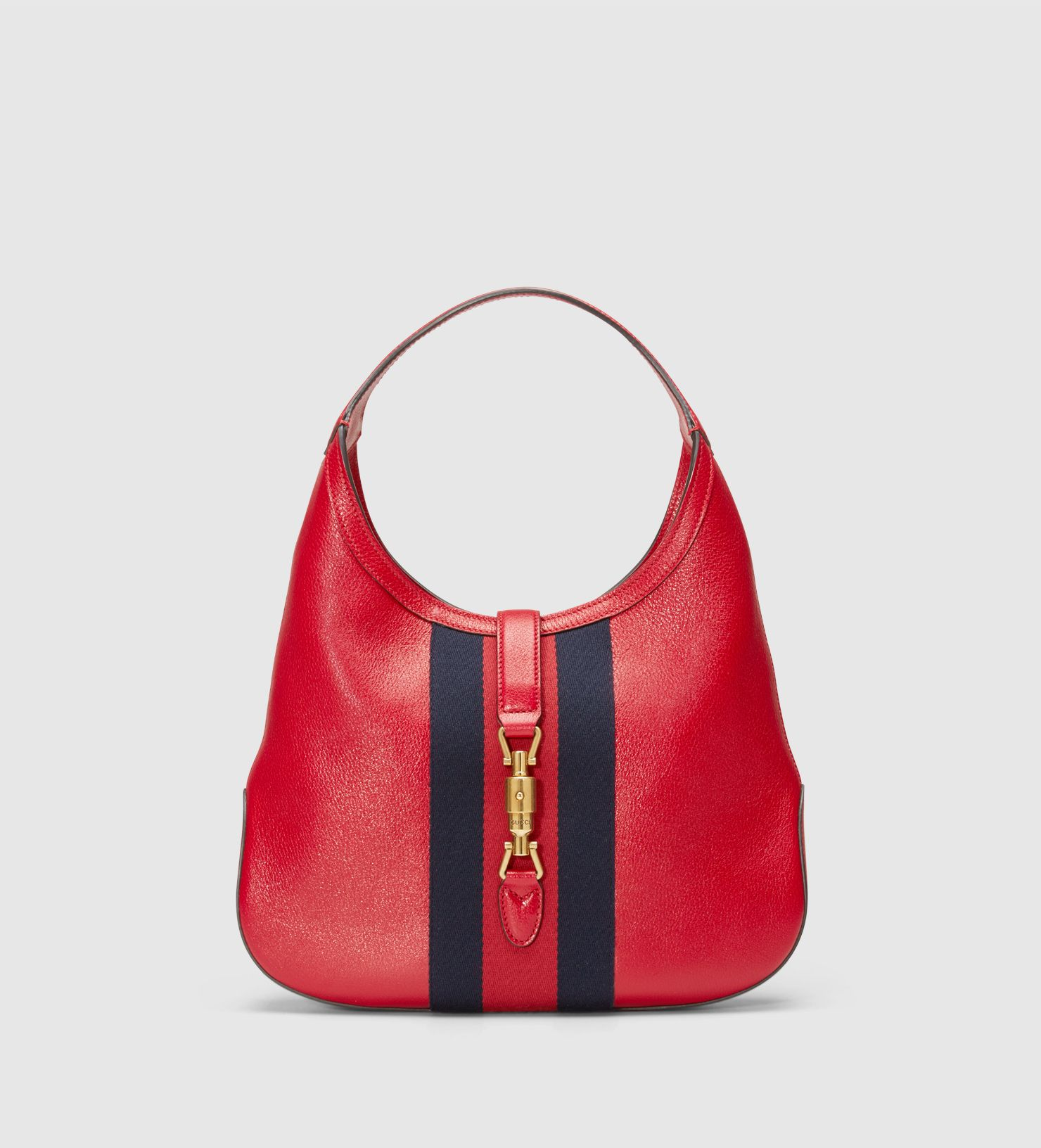 Jackie Soft Leather Hobo 365458cwg1t6473 Gucci Handbags Gucci Uk Leather Hobo