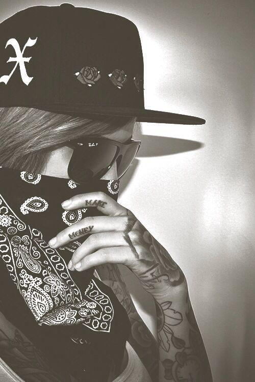 sleeve tattoo Gangster girl, Gangsta girl, Gangster