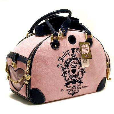 23428de42a98 Image detail for -... Juicy Couture dog Carrier