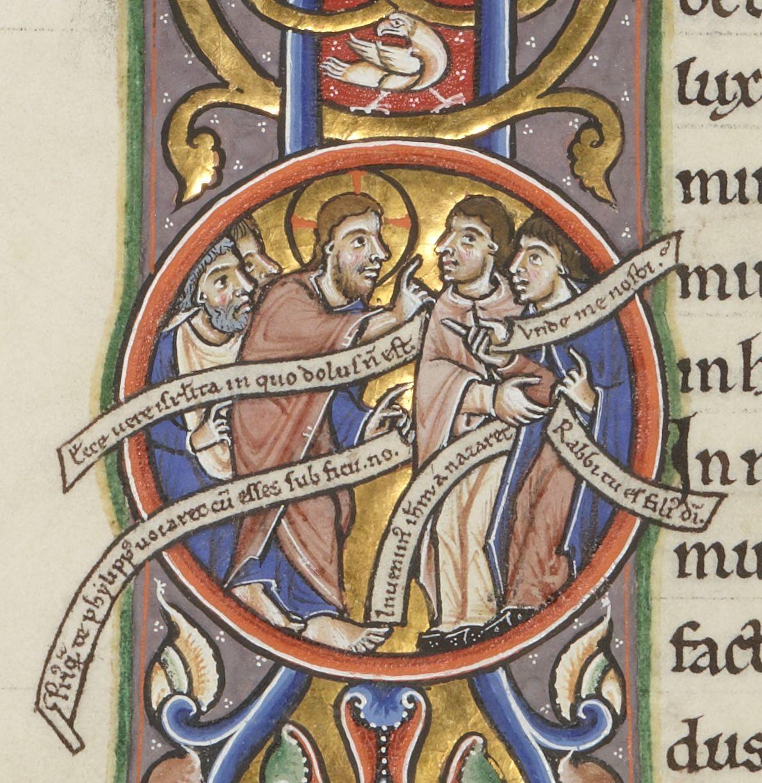 Medieval comics. Bibliothèque nationale de France, Département des manuscrits, Latin 16746, fol. 64v.