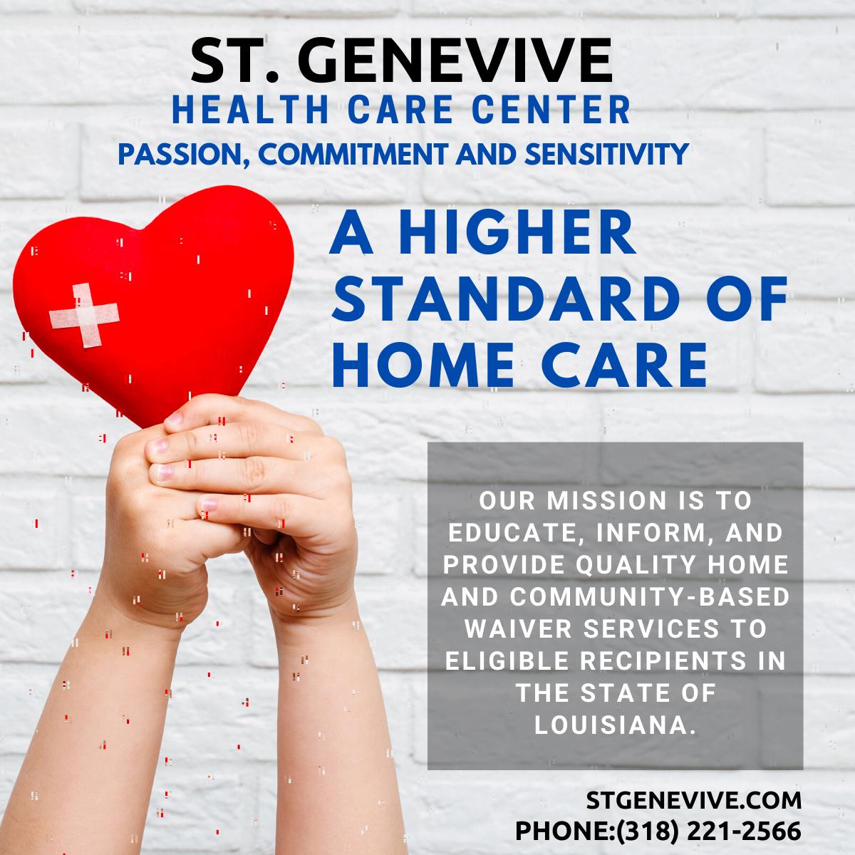 St Genevive Healthcare Center Health Care Healthcare Centers Health Care Services