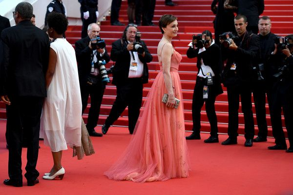Actress Kristin Scott Thomas attends the 70th Anniversary of the 70th annual Cannes Film Festival at Palais des Festivals on May 23, 2017 in Cannes, France.