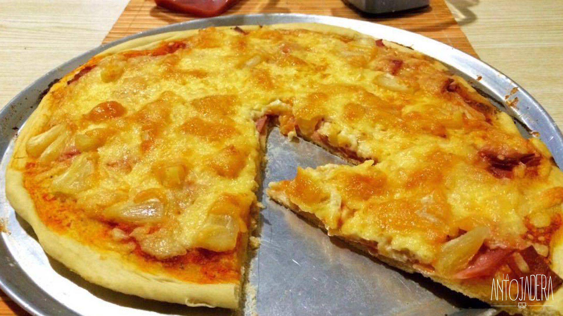 La Antojadera | Pizza Hawaiana