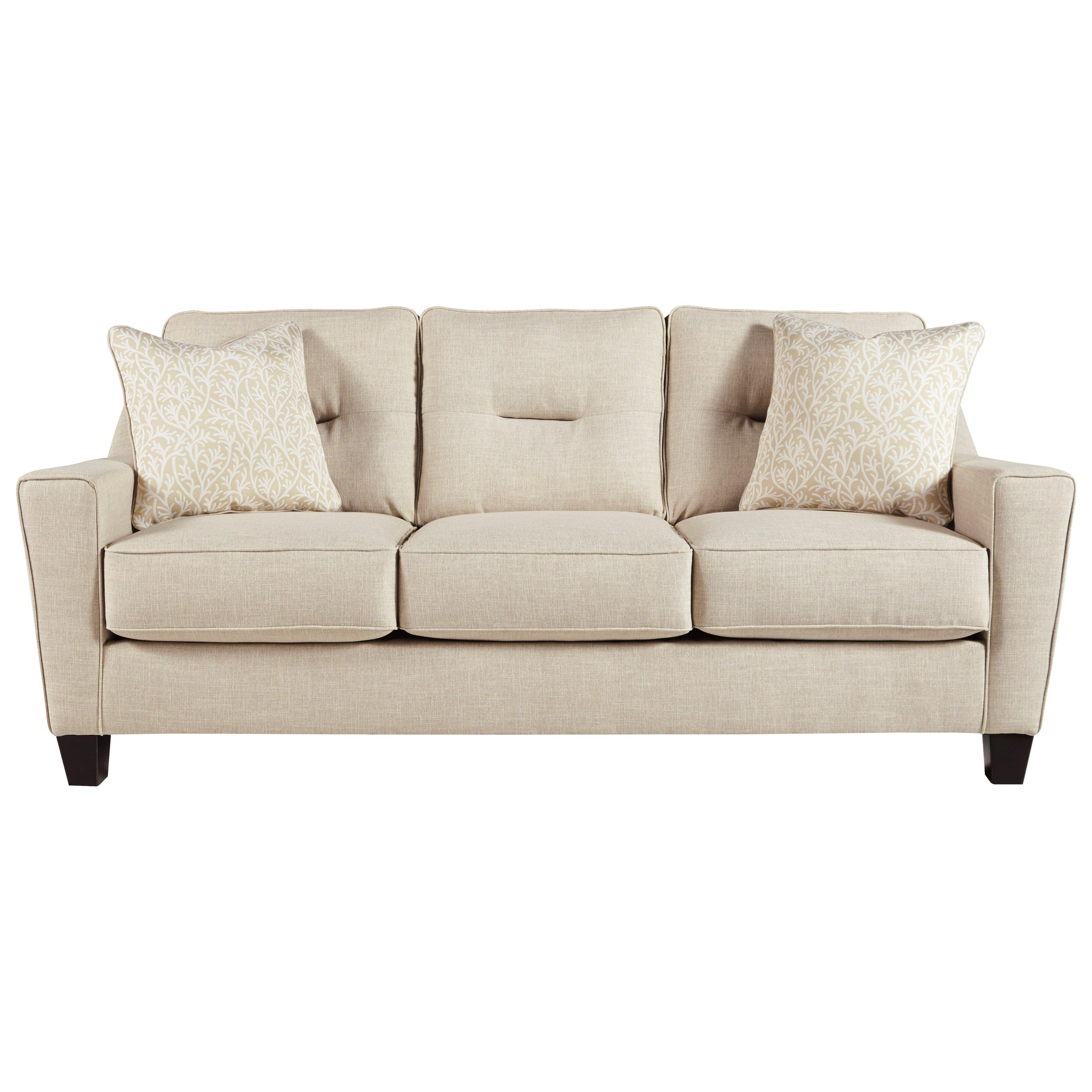 Best Forsan Nuvella Sofa By Benchcraft At Hudson S Furniture 640 x 480